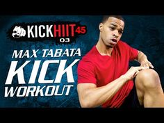 45 Min. MAX Tabata Kickboxing HIIT Workout | Kick HIIT 45 Day 03 - Fitness and Exercise Videos | Grokker