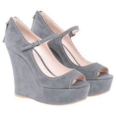 Miu Miu Wedge  $630.00 SERIOUSLY!!! If someone else paid that and then I regot them for a 10th of the price.