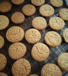 BOBAAS GEMMERKOEKIES Bulk Cookie Recipe, Best Sugar Cookie Recipe, Best Sugar Cookies, Biscuit Recipe, Cookie Recipes, Baked Donut Recipes, Baked Donuts, Dog Food Recipes, Korslose Melktert