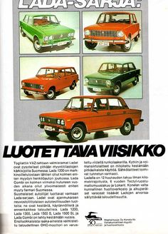vanhat mainokset Car Advertising, Ads, Renault Nissan, Old Commercials, Old Toys, Finland, Retro Vintage, Classic Cars, Automobile