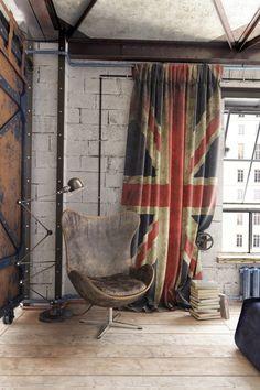 50 Creative Urban Industrial Decor designs To Complete Your Brick & Steel Loft Industrial Design Furniture, Vintage Industrial Furniture, Industrial Interiors, Modern Interiors, Furniture Design, Affordable Home Decor, Cheap Home Decor, Diy Home Decor, Room Decor