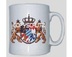 Tasse Bayern 2 / mehr Infos auf: www.Guntia-Militaria-Shop.de