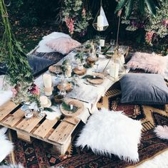 Beautiful bohemian brunch we styled on the weekend. #bohemianbrunch #brunch #bohemianpicnic #styling #eventstyling #bohemianwedding