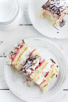 Stracciatella Cake. My favorite of all time. I should probably make this. Again. And soon.