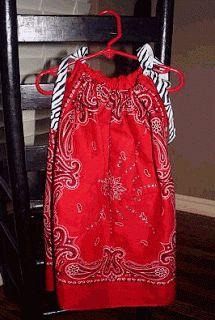 Urban Daisies: Bandana Dresses Part 2