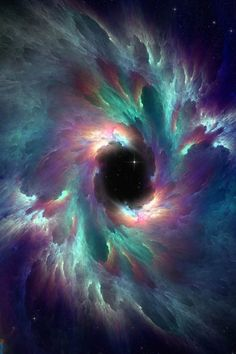 Wow- so beautiful! Black hole.