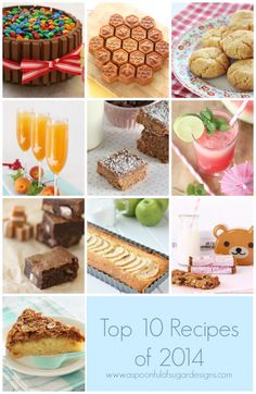 2014 - Top 10 Baking Posts - A Spoonful of Sugar