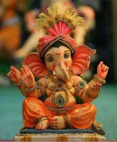 Ganesh Chaturthi Decoration, Happy Ganesh Chaturthi Images, Shri Ganesh Images, Ganesha Pictures, Ganesh Idol, Ganesha Art, Ganpati Bappa Wallpapers, Ganesh Lord, Sri Ganesh