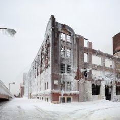 Incendio de Chicago, por David Schalliol.