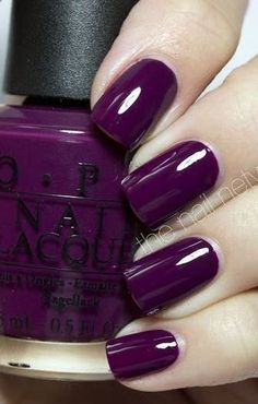 64 trendy purple nail art designs and ideas to try out - out . - 64 trendy purple nail art designs and ideas to try out – - Opi Nails, Manicures, Polish Nails, Nail Polishes, Stiletto Nails, Summer Nail Polish, Nail Nail, Summer Nails, Cute Nails