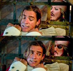 Is this from the new movie????? Henry Turner and Captain Jack Sparrow