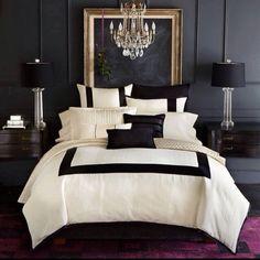 Black white #bedroom story