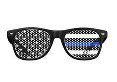 Thin Blue Line Sunglasses  Retro and Aviator by ForgetSundayDrives. Adult and Kid sizes!   Police. Police officer. Law Enforcement. LEO. Police lives matter. Blue lives matter. Support blue. Support police. LEOW LEO Wife. Police wife. Stars and stripes. Beach. Summer. Back the badge. Behind the badge. Gifts for her. Gifts for him. Back the badge. Back the blue. Police family. Blue family. Thin Blue Line family. Sunglasses. Unique. Black and White. American Flag. Thin Blue Line.