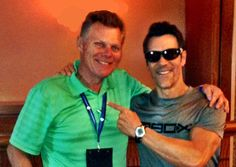 Tony Horton, I love you man! A thrill of a lifetime to meet and take a pic with him in Las Vegas. www.ochomesbyjeff.com #orangecountyrealtor #jeffforhomes #ilovecardio