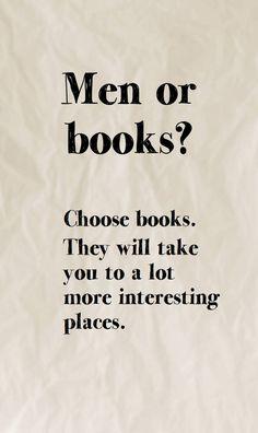Choose books.....