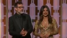 Jeffrey Dean Morgan and Priyanka Chopra present Best Actor in a TV Series-Drama at The 74th Annual Golden Globes on January 8, 2017 #thewalkingdead #twd #thewalkingdeadseason7 #twdfamily #twdfinale #amc #walkingdead #rickgrimes #andrewlincoln #norman #normanreedus #daryl #dixon #michonne #chandler #chandlerriggs #carl #carlgrimes #carol #negan #lucille #maggie #glenn #love