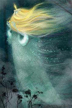Stargazer by Saffron Milk Catherine Razinkova, via Behance