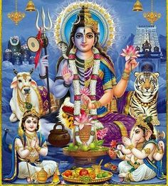 Om Jai Shiv Parivar  Shower your Blessings on Us