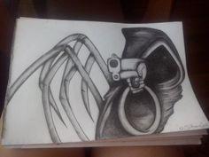 Dorwałam ołówek i o to efekt;)