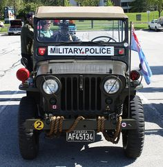 1951 Willys Jeep Military Police