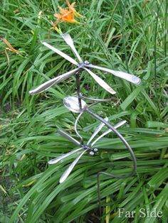 Silverware Dragonflies