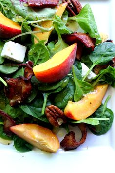 The Rise Of Private Label Brands In The Retail Meals Current Market Crunchy Summer Peach Salad Great Healthy Meal, Easy To Make For The Summer Great Salad Recipes, Healthy Salad Recipes, Clean Eating Recipes, Whole Food Recipes, Vegetarian Recipes, Coleslaw Recipes, Salad Ideas, Healthy Meals, Pasta Recipes