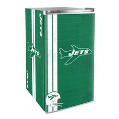 Use this Exclusive coupon code: PINFIVE to receive an additional 5% off the New York Jets Legacy Counter Height Fridge at SportsFansPlus.com