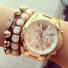 #michael #kors #gold #armcandy