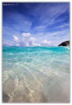 ~~Rising ~ turquoise ocean, Horseshoe Bay, Bermuda by Max Kehrli~~