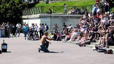 Amazing Street Performer in Paris