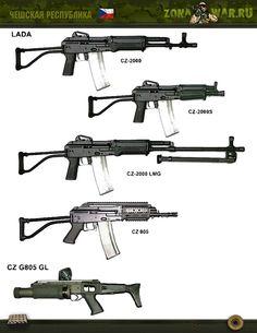 ручной гранатомет CZ G805