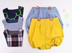 baby sewing pattern pdf/ kids vintage romper / by hellodearkids