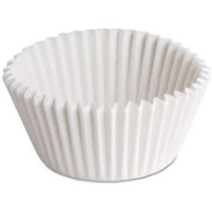 Hoffmaster BL114-3 CPC Flute Paper Bake Cup - White44; Case of 10000 >>> Check out this great product. (This is an affiliate link) #PartySupplies
