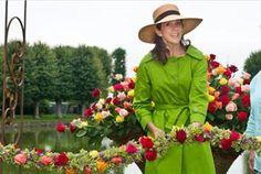 The Crown Princess Maryopened the2011 Garden Living Fair at Frederiksborg Slot.