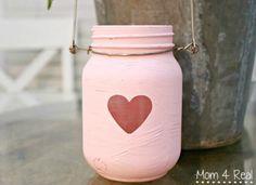 Painted-Mason-Jar-Lanterns-For-Valentines-Day1