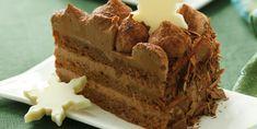 Fini's Feinstes - Rezeptsuche - Fini´s Rezepte - Trüffeltorte Ukrainian Recipes, Chocolate Ganache, Vanilla Cake, Creme, Frosting, Sweets, Baking, My Favorite Things, Desserts