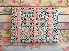 Pink & Blue Cross Bow Board w/Pink Chevron by ReeseAndLayne on Etsy