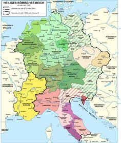Das Heilige Römische Reich unter den Kaisern der sächsischen Ottonen - Dynastie