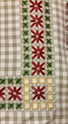 Chicken Scratch / Gingham Embroidery Index – & some history Chicken Scratch Patterns, Chicken Scratch Embroidery, Hand Embroidery Designs, Embroidery Patterns, Cross Stitch Patterns, Hardanger Embroidery, Embroidery Stitches, Bordado Tipo Chicken Scratch, American Girl Crafts