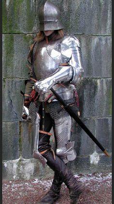 Tungt pansrad yrkeskrigare. Rekonstruktion från Historiska Världar. Guns, Fashion Styles, Weapons Guns, Revolvers, Weapons, Rifles, Firearms