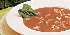 Receita de sopa de feijão com louro