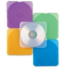 Verbatim Trimpak Color CD Cases #93804