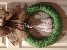 This will be our winter wreath this year!
