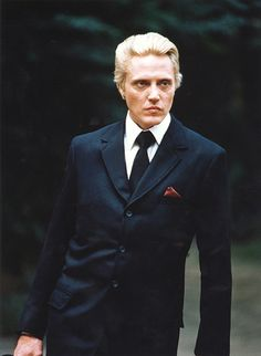 Christopher Walken in 'A View To A Kill'. The man could wear a power suit in the eighties.