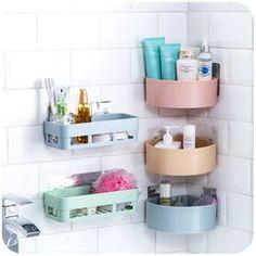 The 8 must-haves of your rustic bathroom - HomeDBS Wall Organization, Bathroom Organisation, Bathroom Shelves, Bathroom Wall, Bathroom Storage, Bathroom Gadgets, Modern Bathroom Decor, Bathroom Furniture, Modern Bathrooms