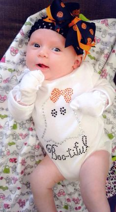 Bootiful Ghost Halloween Onesie, Halloween Shirt for Infant, Toddler, Girls on Etsy, $19.45