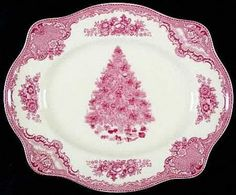 Johnson Brothers Old Britain Castles Christmas Dishes