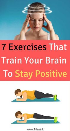 7 Exercises That Train Your Brain To Stay Positive An study has found that just vitamin deficiencies alone can cause declines in mental health that can lead to stress, anxiety, depression, addictions and additional psychological disorders. Fitness Diet, Fitness Motivation, Health Fitness, Health Advice, Health And Wellness, Mental Health, Chest Workout Routine, Psychology Disorders, Train Your Brain
