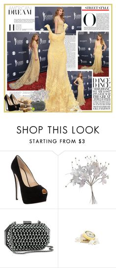 """""""Taylor Swift"""" by chasidy023 ❤ liked on Polyvore featuring Nicki Minaj, Elie Saab, Giuseppe Zanotti, John Lewis, H&M and The Body Shop"""