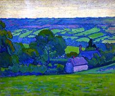 Devonshire Valley, No. 2 (Robert Bevan - ca. 1913)